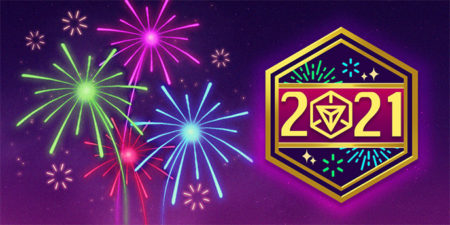 【Ingress】2021 New Year Medalとお得なFireworks Beaconがストアに登場